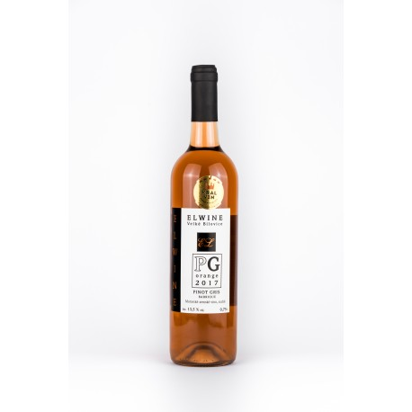 Oranžové víno PG Pinot Gris